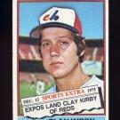 1976 Topps Traded Baseball #579T Clay Kirby - Montreal Expos VgEx
