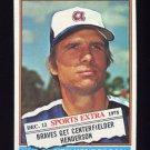 1976 Topps Traded Baseball #464T Ken Henderson - Atlanta Braves