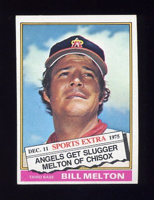 1976 Topps Traded Baseball #309T Bill Melton - California Angels