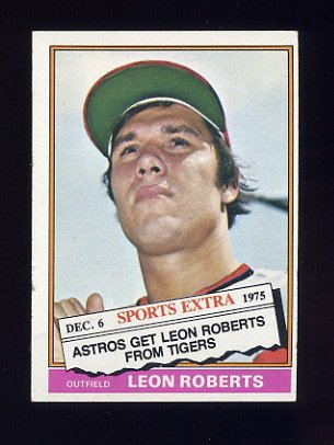 1976 Topps Traded Baseball #292T Leon Roberts - Houston Astros