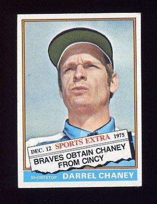 1976 Topps Traded Baseball #259T Darrel Chaney - Cincinnati Reds