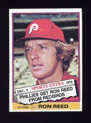1976 Topps Traded Baseball #058T Ron Reed - Philadelphia Phillies