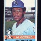 1976 Topps Baseball #648 Al Cowens - Kansas City Royals