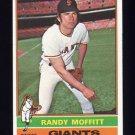 1976 Topps Baseball #553 Randy Moffitt - San Francisco Giants