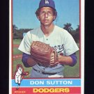 1976 Topps Baseball #530 Don Sutton - Los Angeles Dodgers