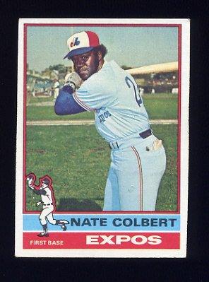 1976 Topps Baseball #495 Nate Colbert - Montreal Expos