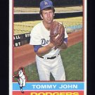 1976 Topps Baseball #416 Tommy John - Los Angeles Dodgers