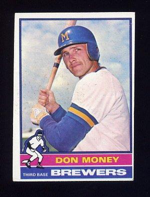 1976 Topps Baseball #402 Don Money - Milwaukee Brewers