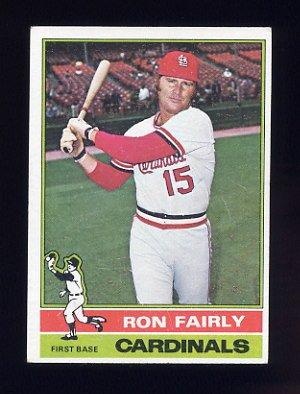 1976 Topps Baseball #375 Ron Fairly - St. Louis Cardinals
