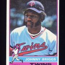 1976 Topps Baseball #373 Johnny Briggs - Minnesota Twins