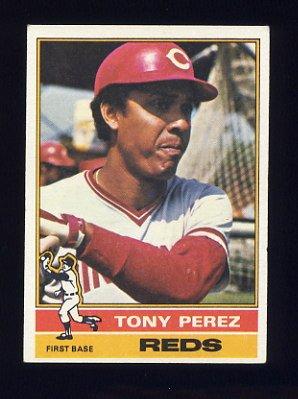 1976 Topps Baseball #325 Tony Perez - Cincinnati Reds