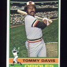 1976 Topps Baseball #149 Tommy Davis - Baltimore Orioles