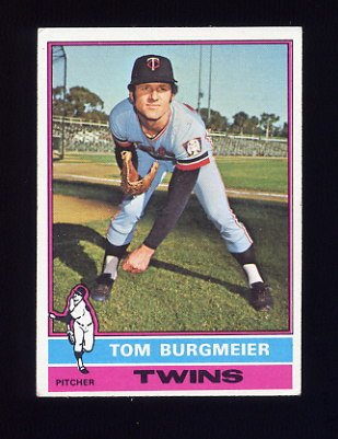 1976 Topps Baseball #087 Tom Burgmeier - Minnesota Twins
