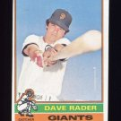 1976 Topps Baseball #054 Dave Rader - San Francisco Giants