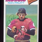 1977 Topps Baseball #654 Ron Pruitt RC - Cleveland Indians