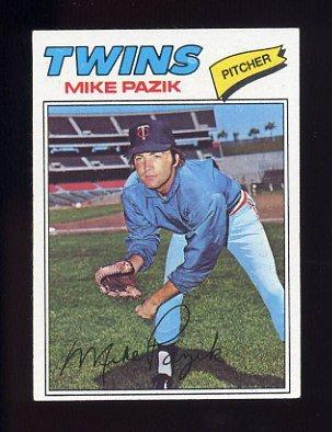 1977 Topps Baseball #643 Mike Pazik - Minnesota Twins