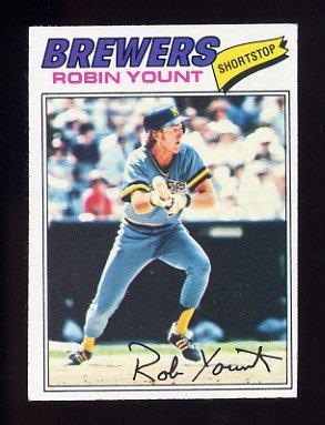 1977 Topps Baseball #635 Robin Yount - Milwaukee Brewers NM-M