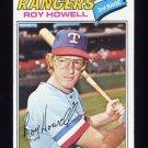 1977 Topps Baseball #608 Roy Howell - Texas Rangers