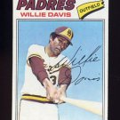 1977 Topps Baseball #603 Willie Davis - San Diego Padres