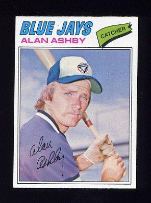 1977 Topps Baseball #564 Alan Ashby - Toronto Blue Jays