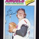 1977 Topps Baseball #519 Don Kirkwood - California Angels