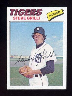1977 Topps Baseball #506 Steve Grilli - Detroit Tigers