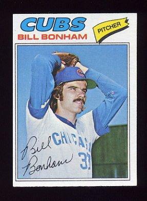 1977 Topps Baseball #446 Bill Bonham - Chicago Cubs