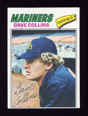 1977 Topps Baseball #431 Dave Collins - Seattle Mariners