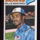 1977 Topps Baseball #410 Willie Montanez - Atlanta Braves