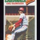 1977 Topps Baseball #404 Eric Rasmussen RC - St. Louis Cardinals NM-M