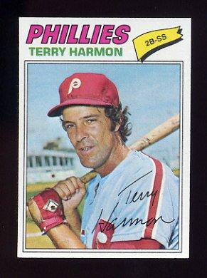 1977 Topps Baseball #388 Terry Harmon - Philadelphia Phillies