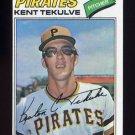 1977 Topps Baseball #374 Kent Tekulve - Pittsburgh Pirates