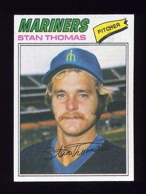 1977 Topps Baseball #353 Stan Thomas - Seattle Mariners