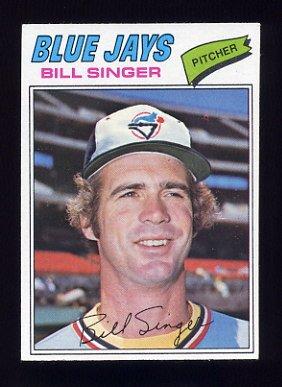 1977 Topps Baseball #346 Bill Singer - Toronto Blue Jays