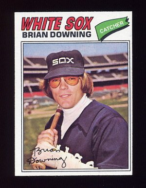 1977 Topps Baseball #344 Brian Downing - Chicago White Sox NM-M