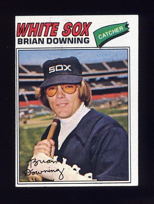 1977 Topps Baseball #344 Brian Downing - Chicago White Sox ExMt