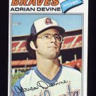 1977 Topps Baseball #339 Adrian Devine - Atlanta Braves