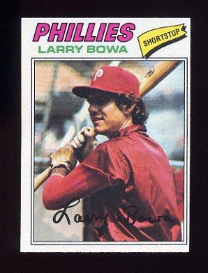 1977 Topps Baseball #310 Larry Bowa - Philadelphia Phillies