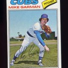 1977 Topps Baseball #302 Mike Garman - Chicago Cubs