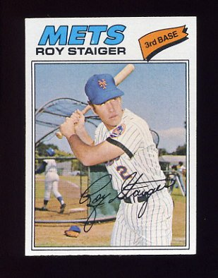 1977 Topps Baseball #281 Roy Staiger - New York Mets