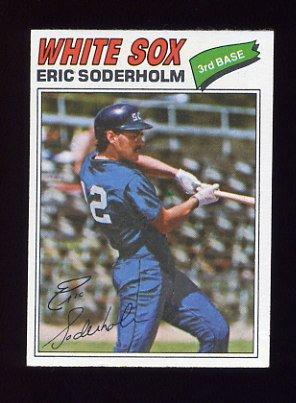 1977 Topps Baseball #273 Eric Soderholm - Chicago White Sox