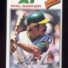 1977 Topps Baseball #261 Phil Garner - Oakland A's