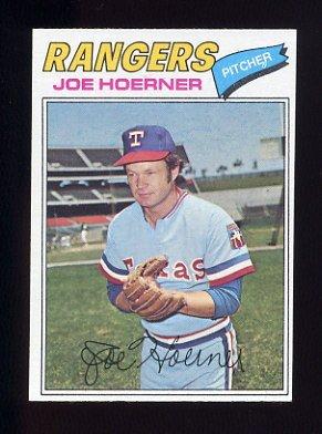 1977 Topps Baseball #256 Joe Hoerner - Texas Rangers
