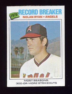 1977 Topps Baseball #234 Nolan Ryan RB - California Angels