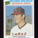 1977 Topps Baseball #234 Nolan Ryan RB - California Angels