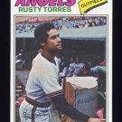 1977 Topps Baseball #224 Rusty Torres - California Angels