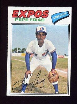 1977 Topps Baseball #199 Pepe Frias - Montreal Expos