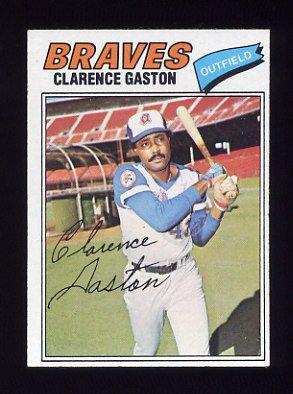 1977 Topps Baseball #192 Clarence Gaston - Atlanta Braves