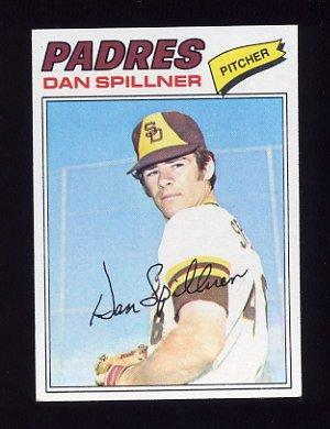 1977 Topps Baseball #182 Dan Spillner - San Diego Padres
