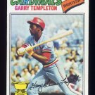 1977 Topps Baseball #161 Garry Templeton RC - St. Louis Cardinals Ex